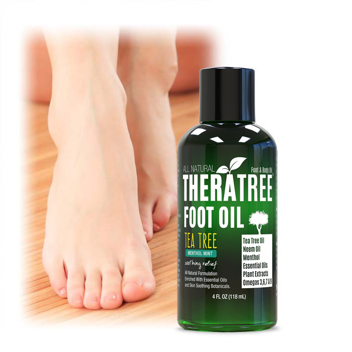 Oleavine TheraTree Foot Oil