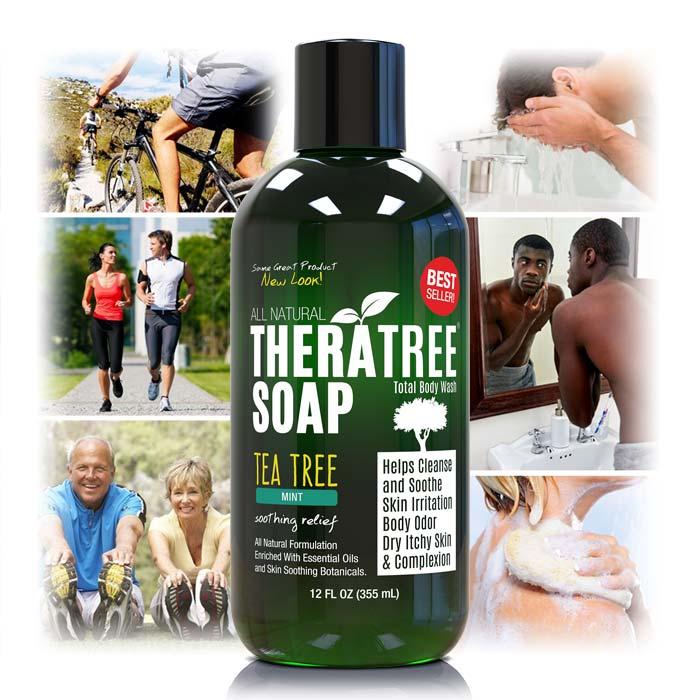 TheraTree Tea Tree Mint Soap